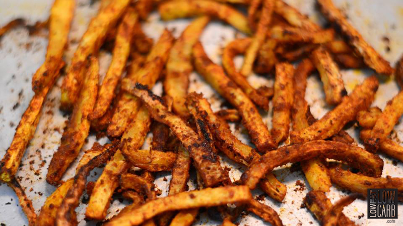 Celery Root French Fries
